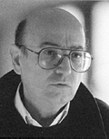 The director Theo Angelopoulos
